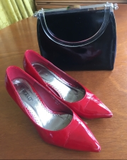 Every gal needs red shoes